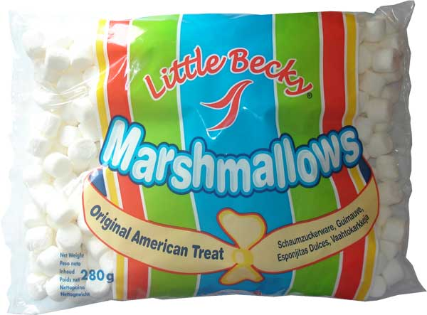 Little Becky`s Mini Marshmallows 280g