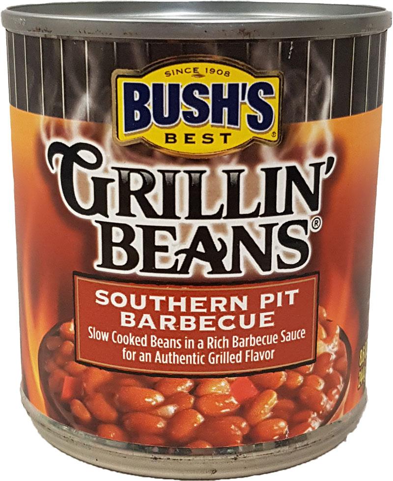 Bush's Best Grillin' Beans Southern Pit BBQ 244 g
