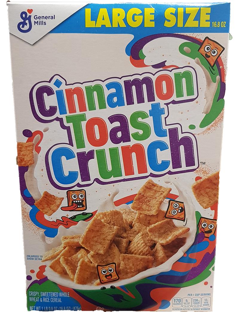Cinnamon Toast Crunch Original, Large (476g)