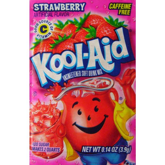 Kool Aid Instant Drink Strawberry- Tüten