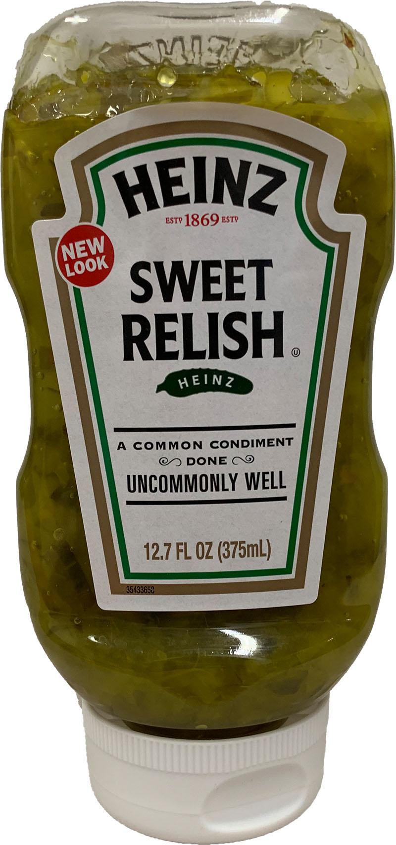 Heinz Sweet Relish Squeeze Bottle 375 ml