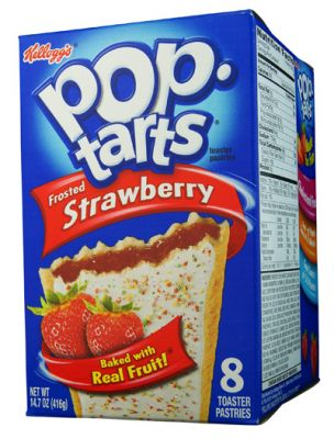 Kelloggs Poptarts Frosted Strawberry (MHD 19.04.21)
