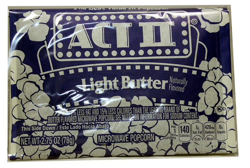 ACT II Light Butter Lovers Mikrowellen Popcorn
