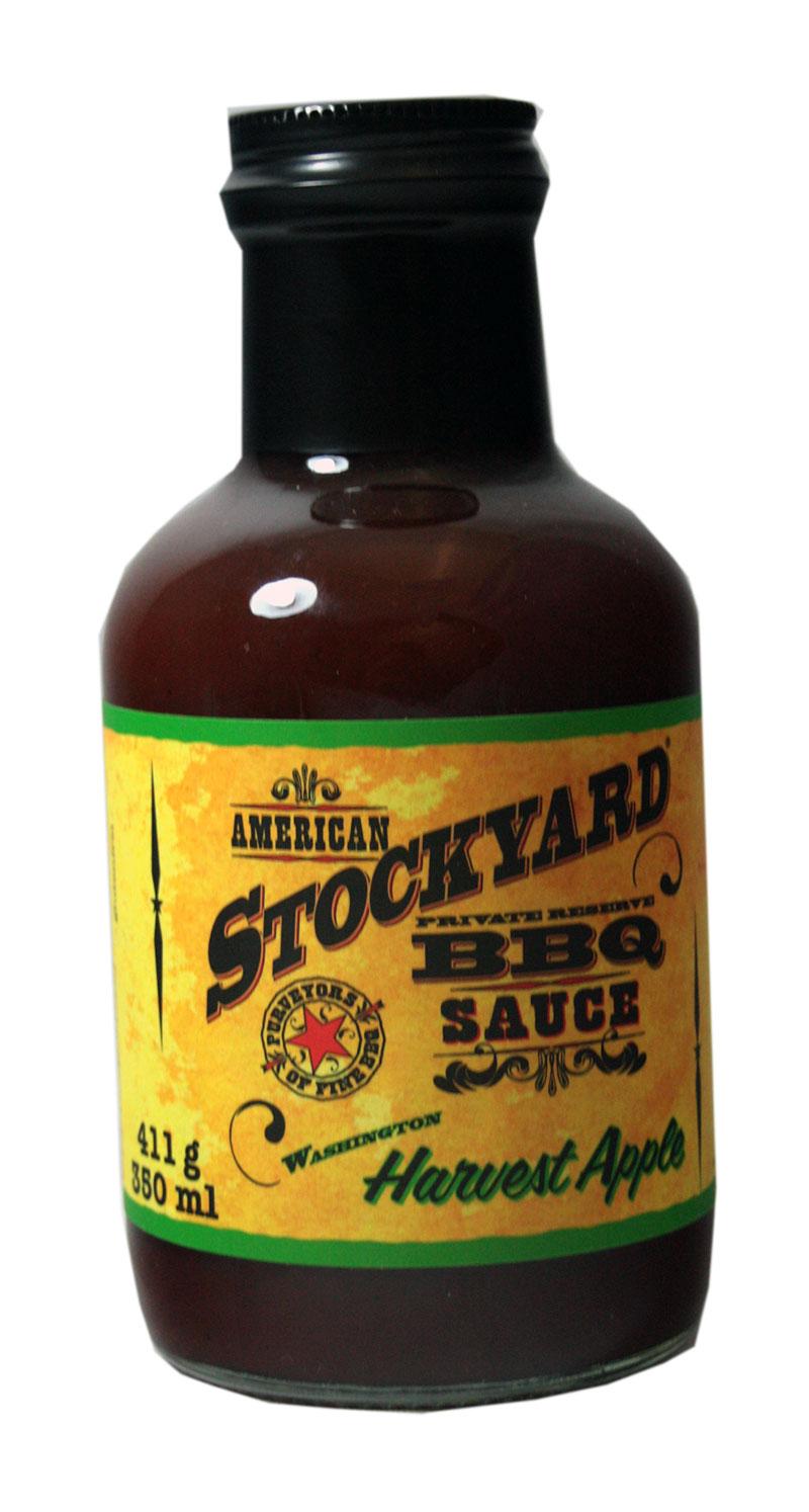 American Stockyard Harvest Apple BBQ Sauce - klein