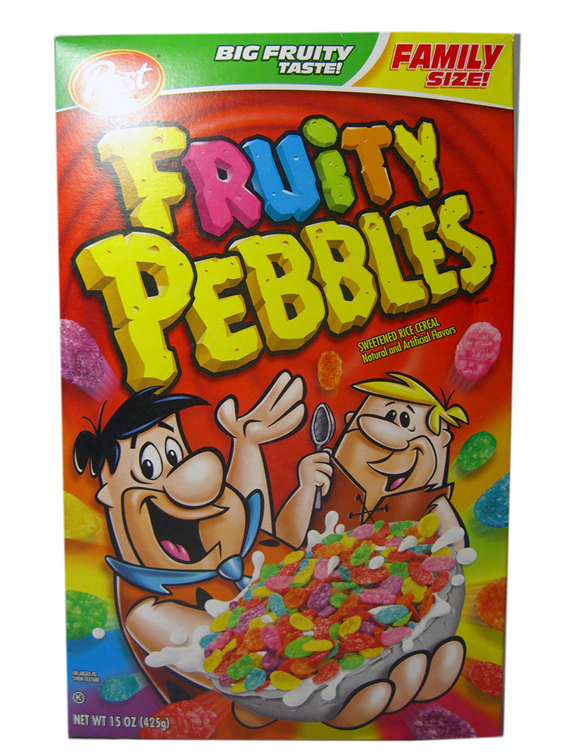 Post Fruity Pebbles Cerealien (425g)