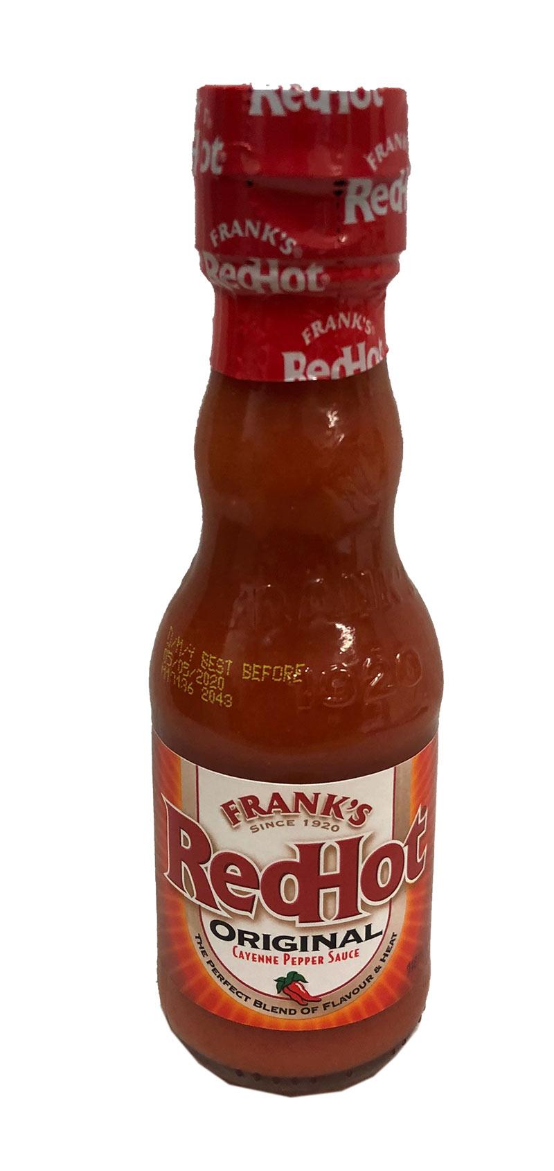 Franks Redhot Original Sauce 148ml