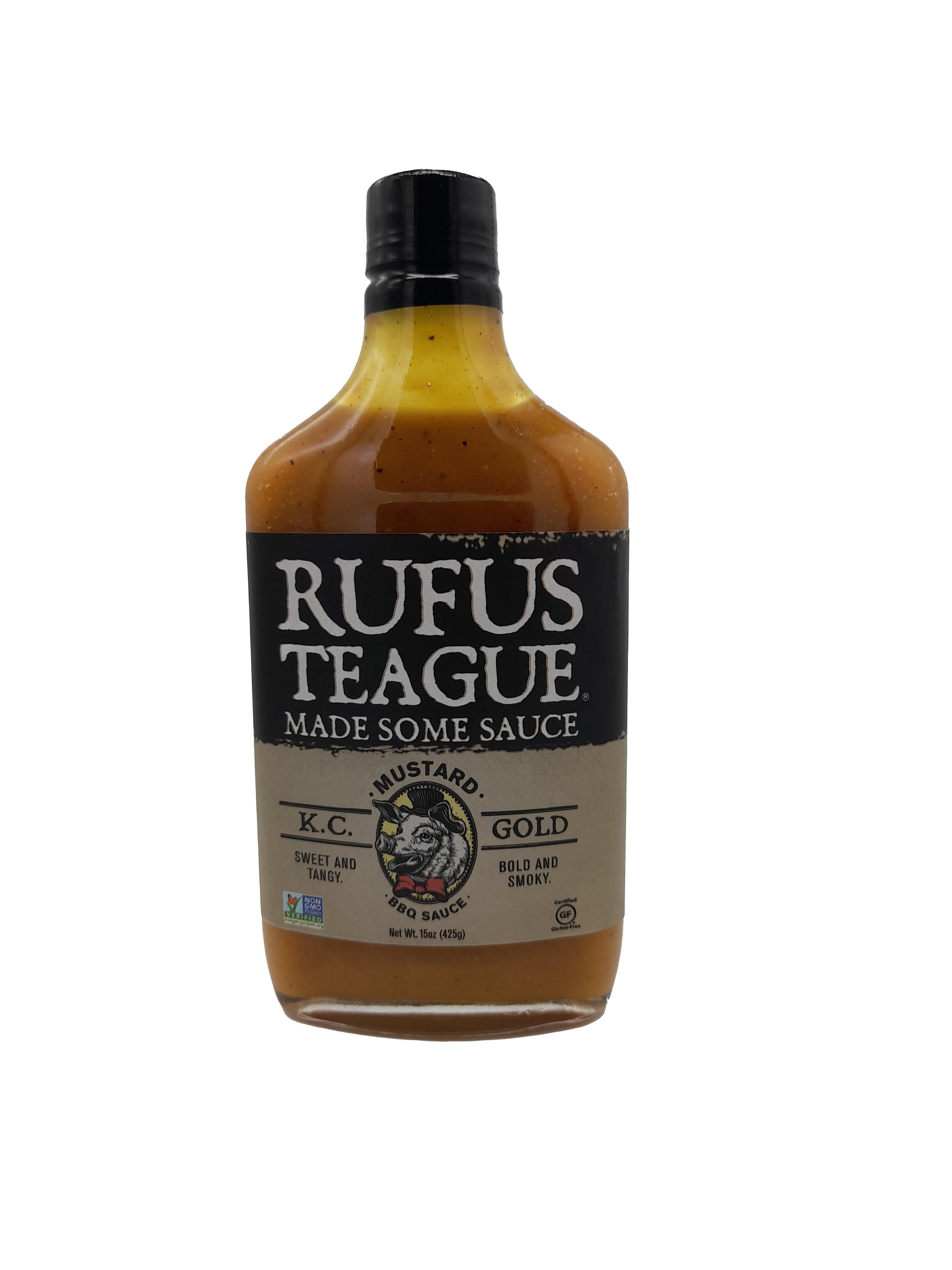 Rufus Teague Mustard KC Gold BBQ