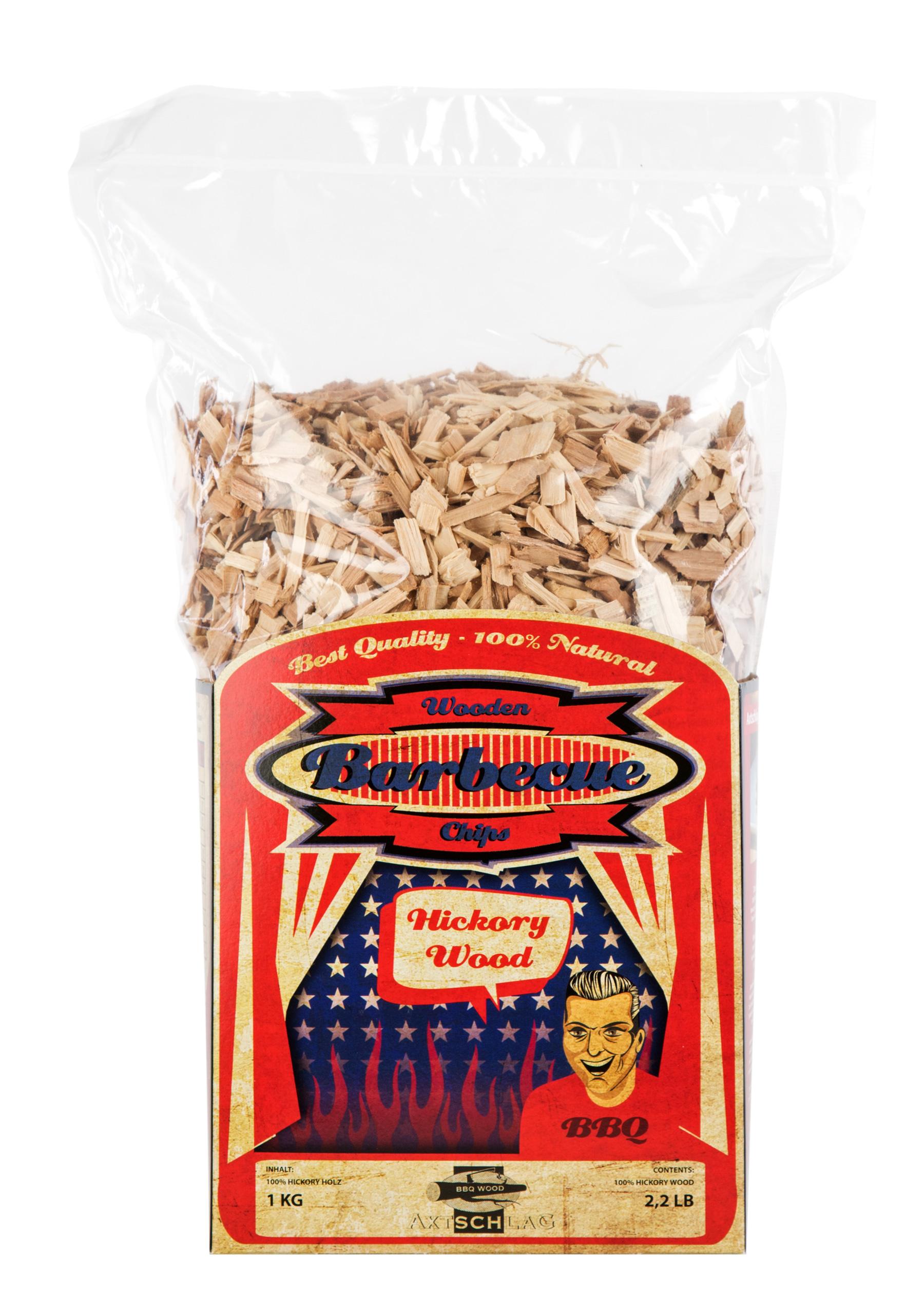 Axtschlag Räucherholz - Wood Smoking Chips - Hickory