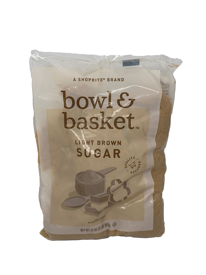 Shoprite bowl & basket light brown sugar (907g)