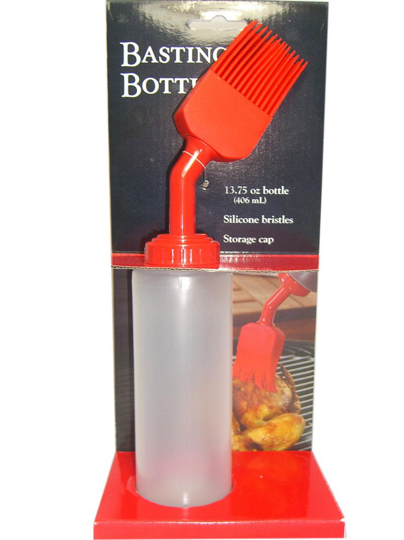 Squeeze Flasche mit Silikonpinsel