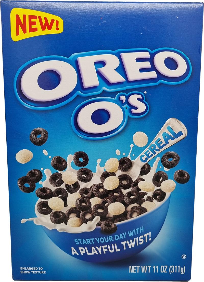 Oreo O's with Vanilla Twist Cereal 311g