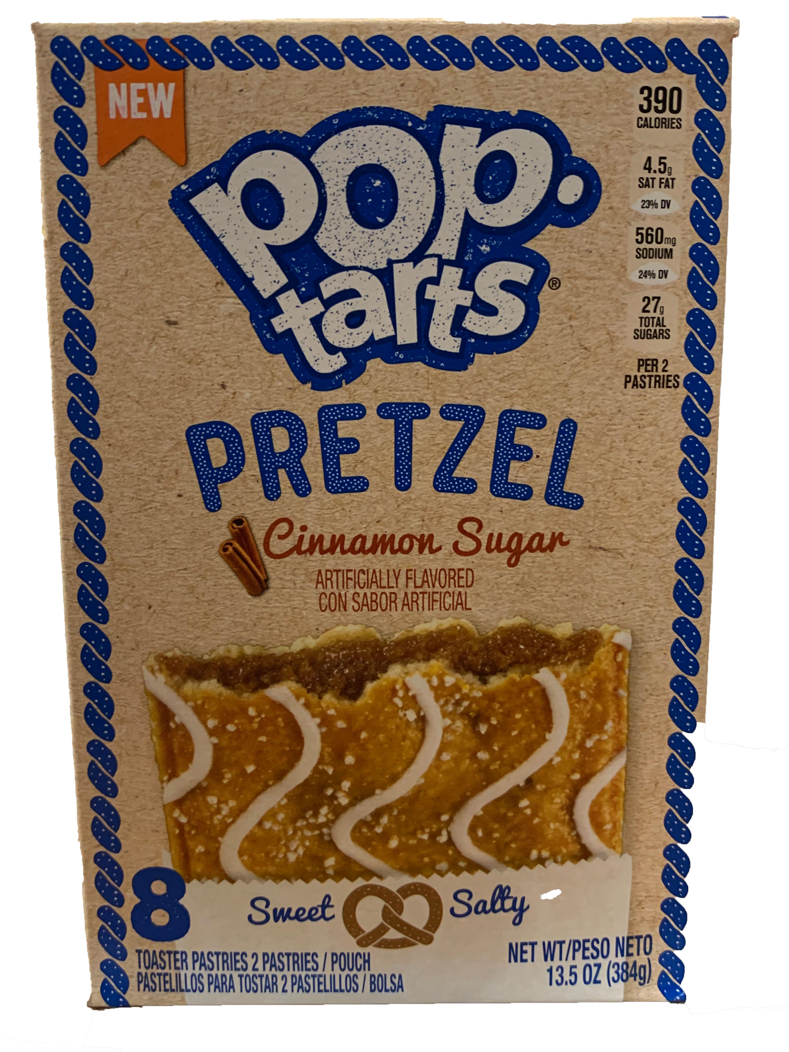 Kelloggs Poptarts Pretzel Cinnamon Sugar