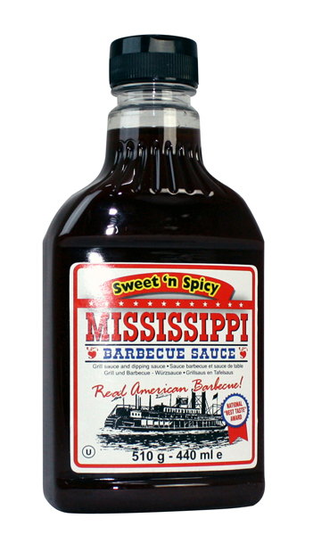 Mississippi BBQ Sauce Sweet N´Spicy
