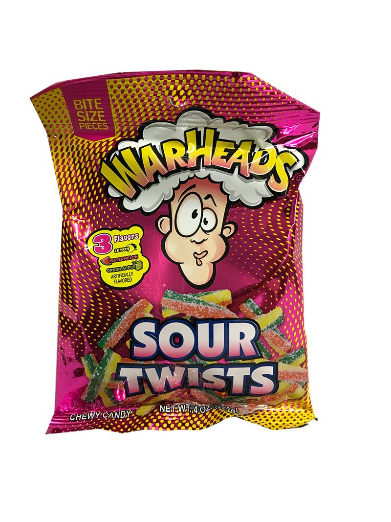 Warheads Sour Twists (Bag)