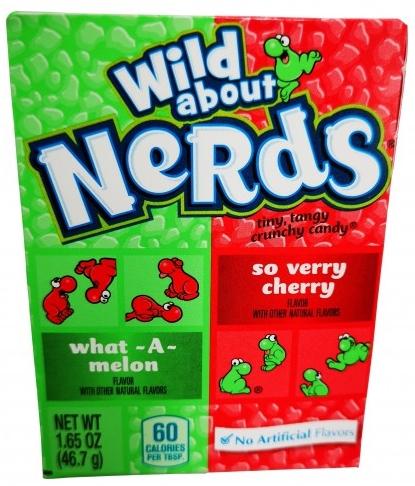 Wonka Nerds Wild Cherry Watermelon 46 gr