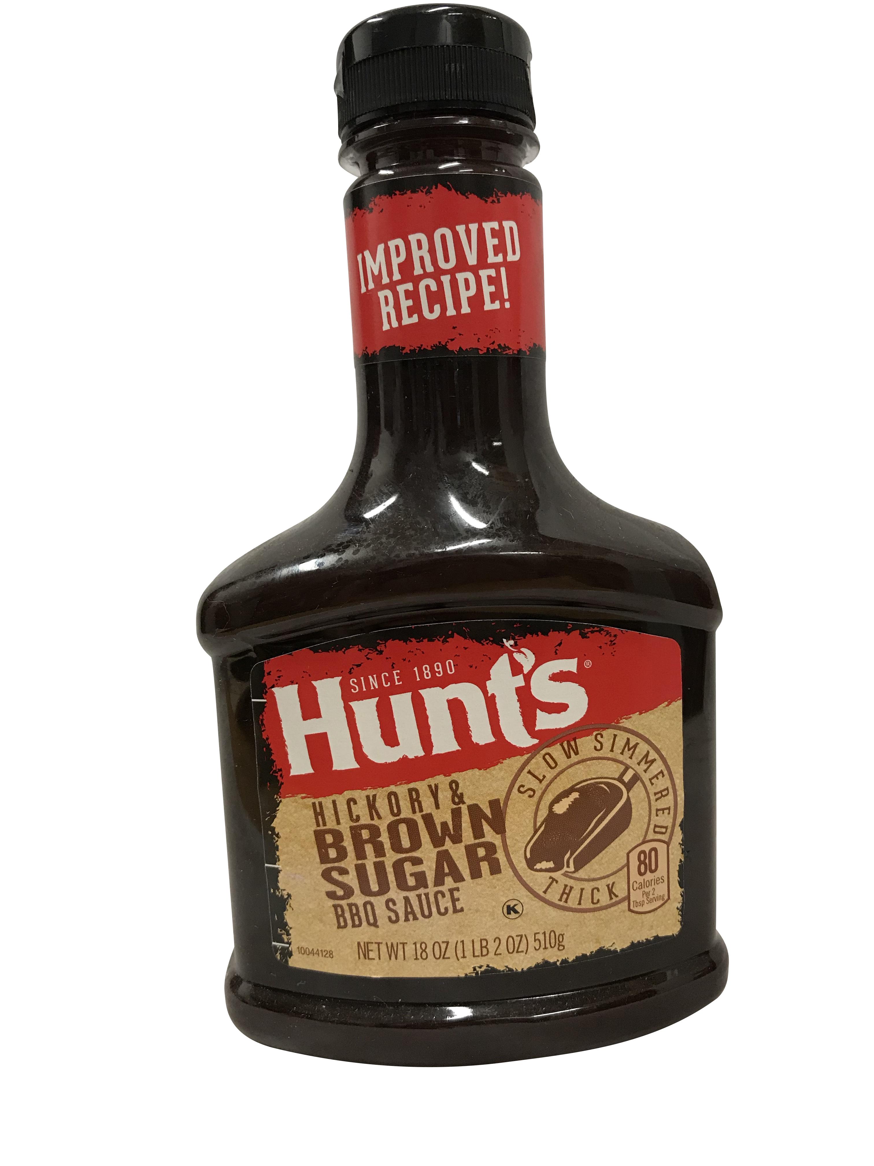 HUNT'S BBQ Sauce Hickory Brown Sugar