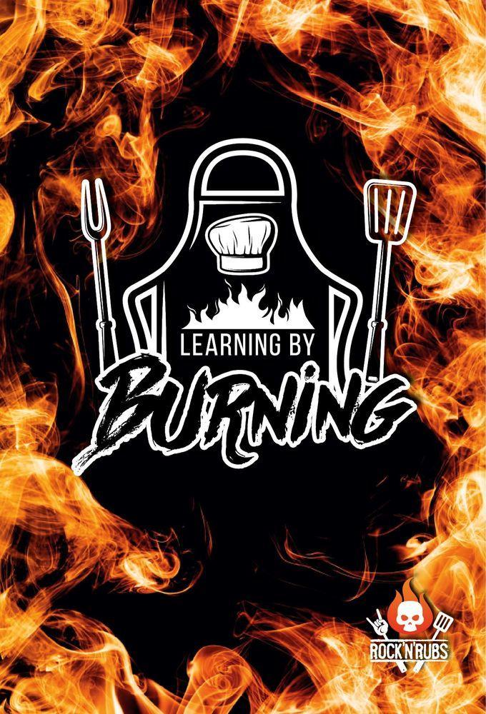 """Blechschild """"Learning by Burning"""""""