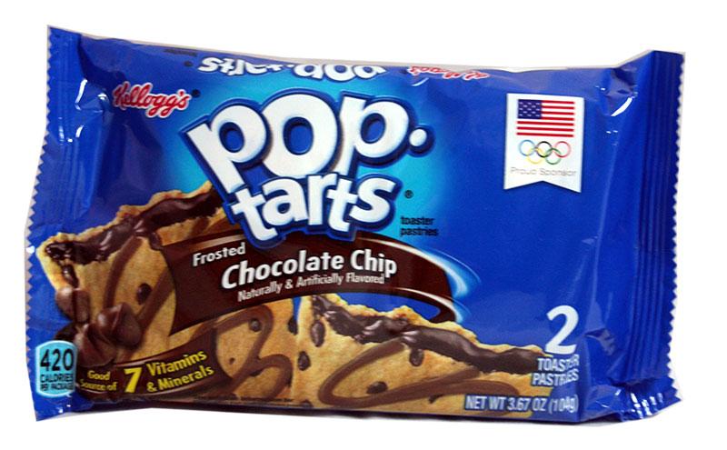 Kelloggs Poptarts Chocolate Chip Zweierpack