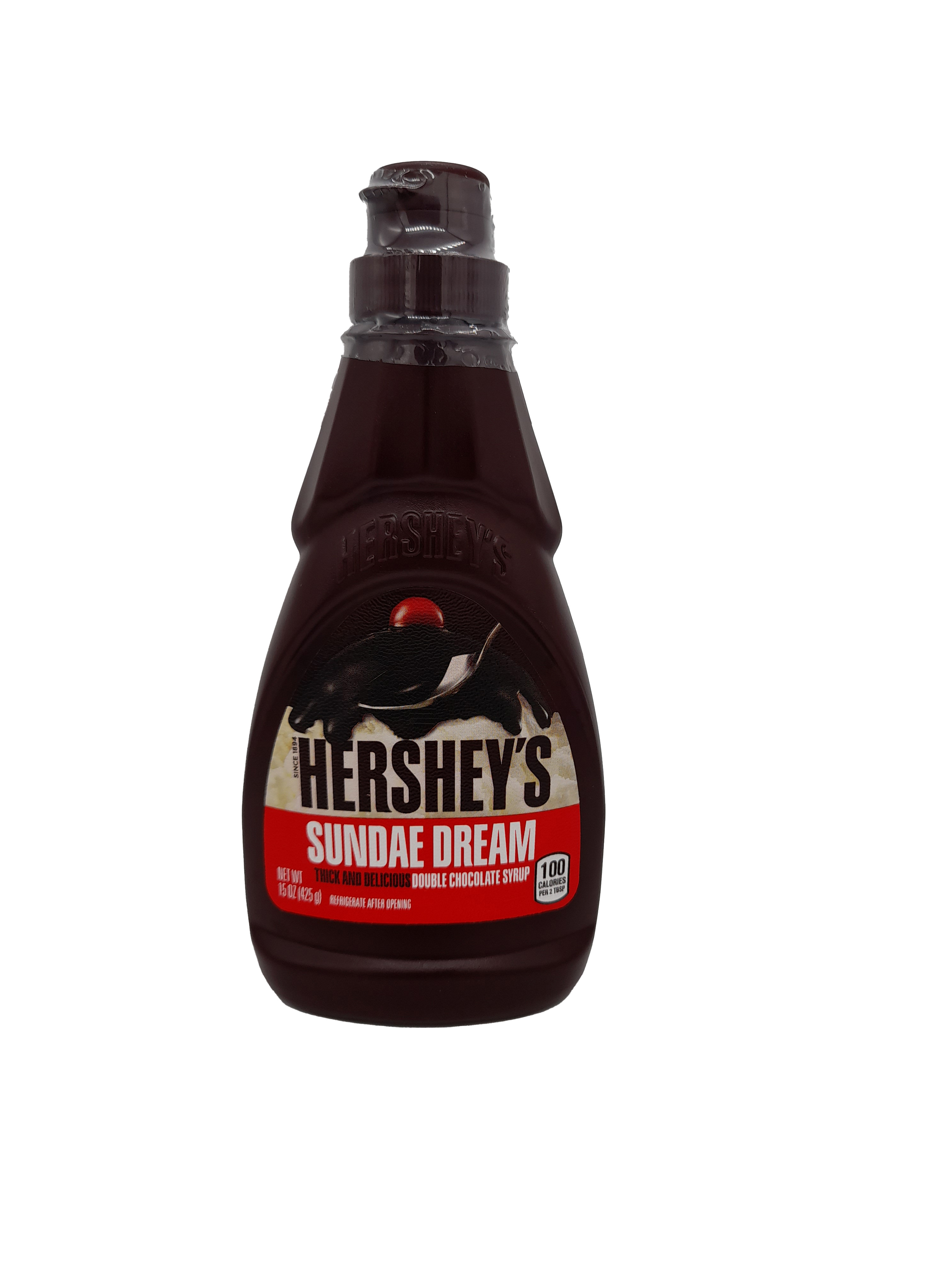 Hershey's Sundae Dream Double Chocolate Syrup 425g