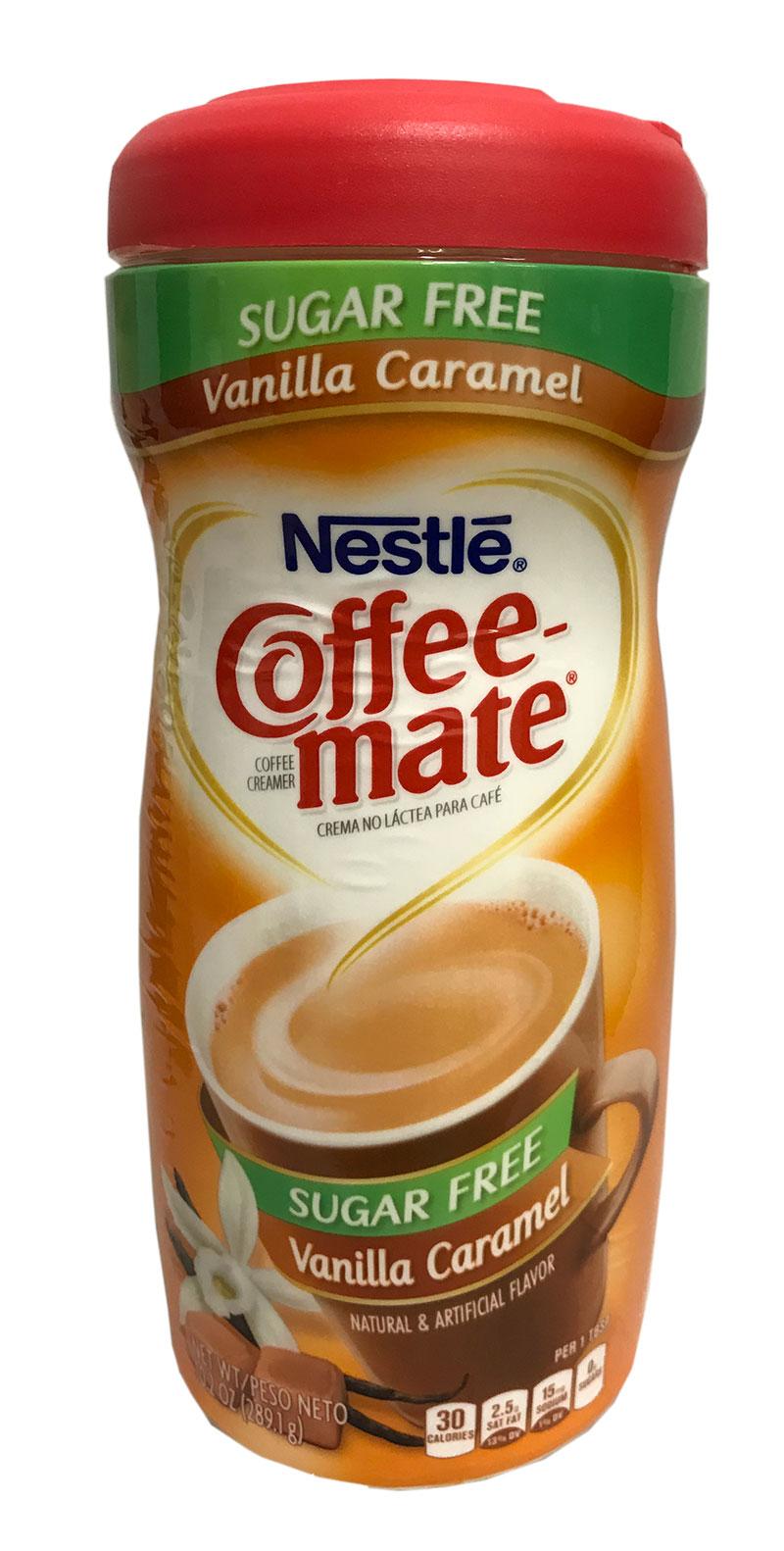 Nestle Coffee Mates Vanilla Caramel Sugar Free