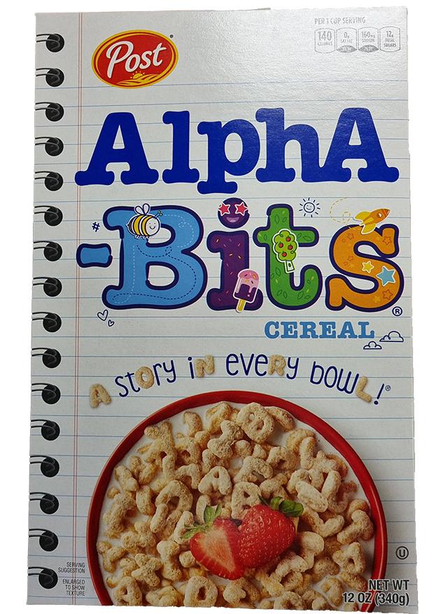 Post Alpha Bites Cereal (340g)