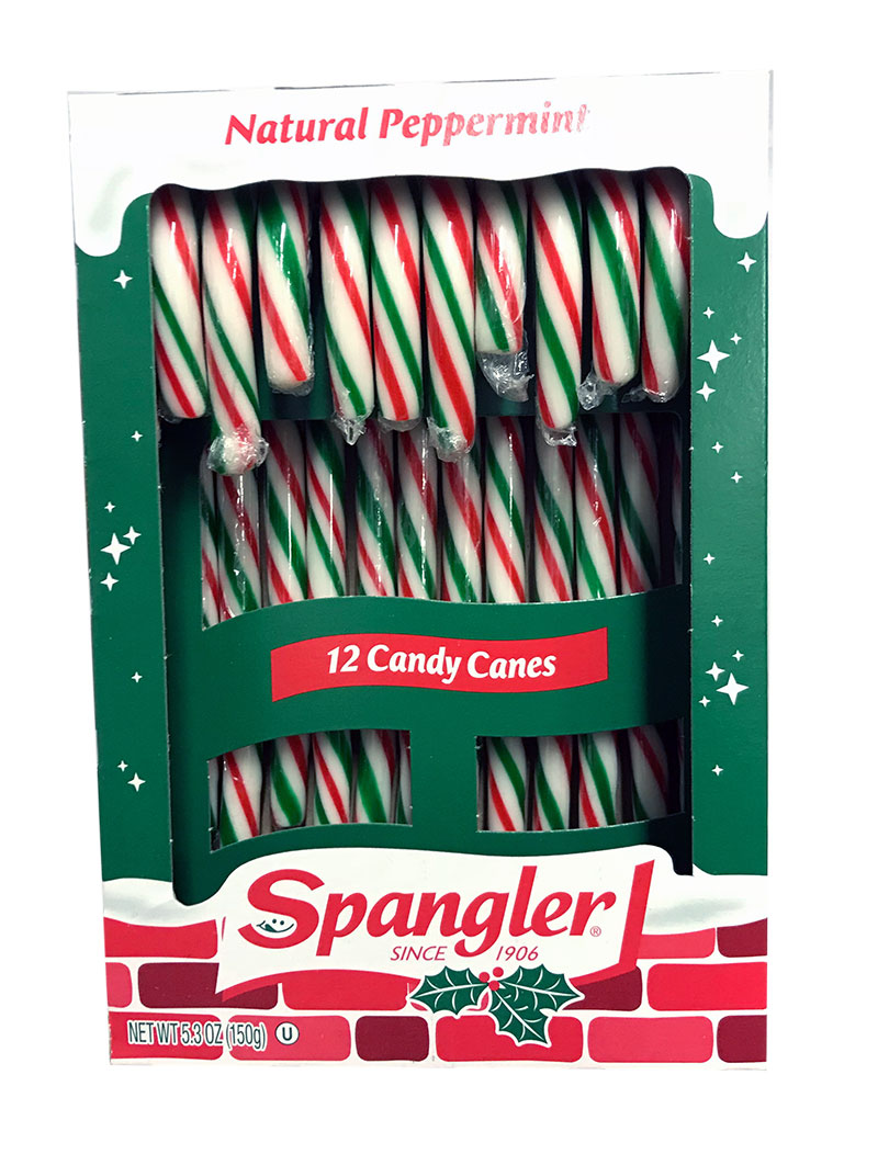 Candy Canes Peppermint Red, Green & White