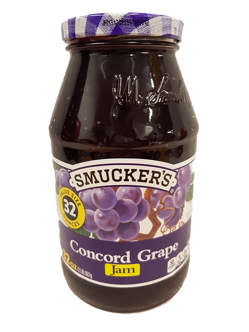 Smuckers Grape Jam (907g)
