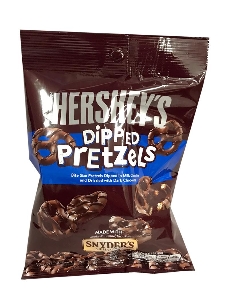 Hershey Dipped Pretzels 120g