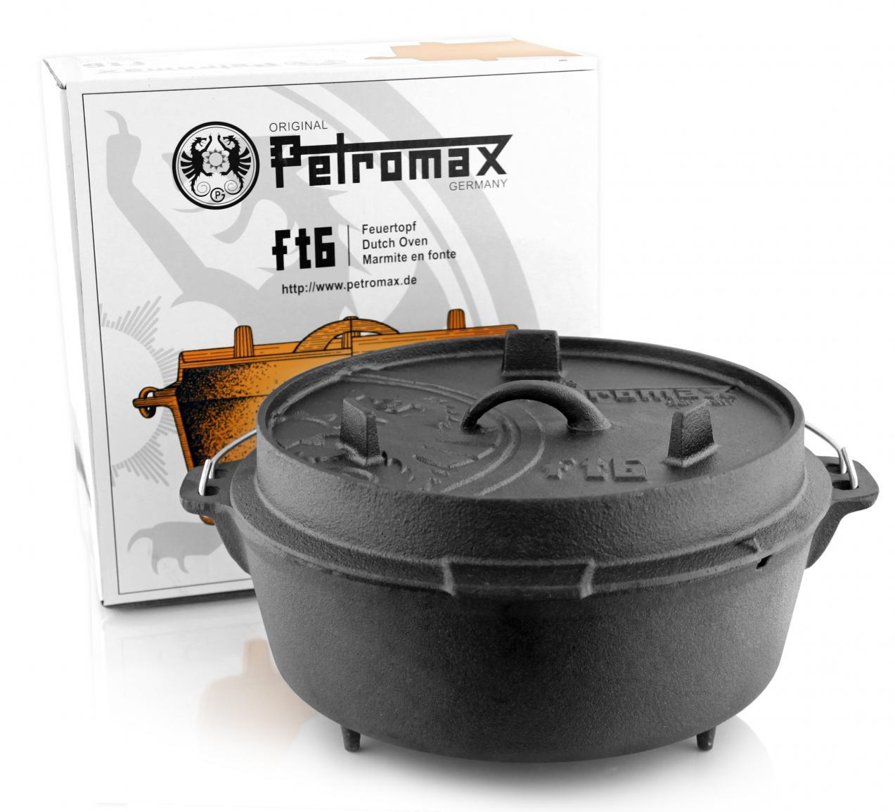 Petromax Dutch Oven ft6 ohne Füße