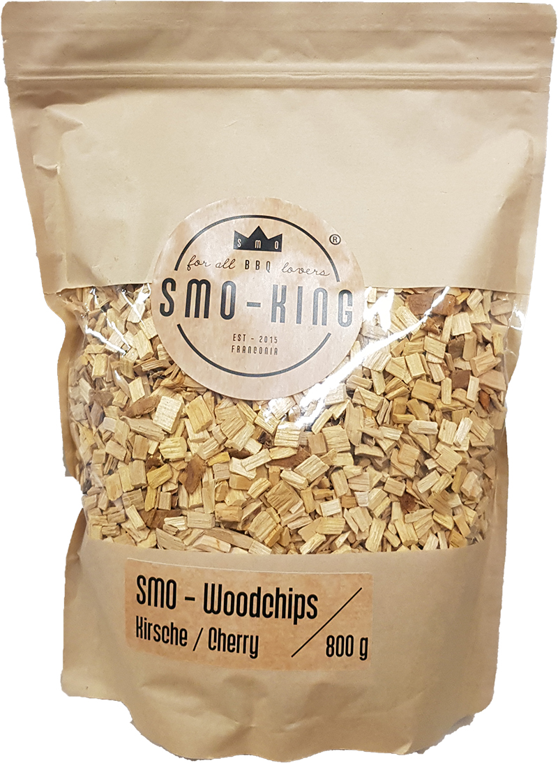 Smo-King Woodchips Kirsche 800g