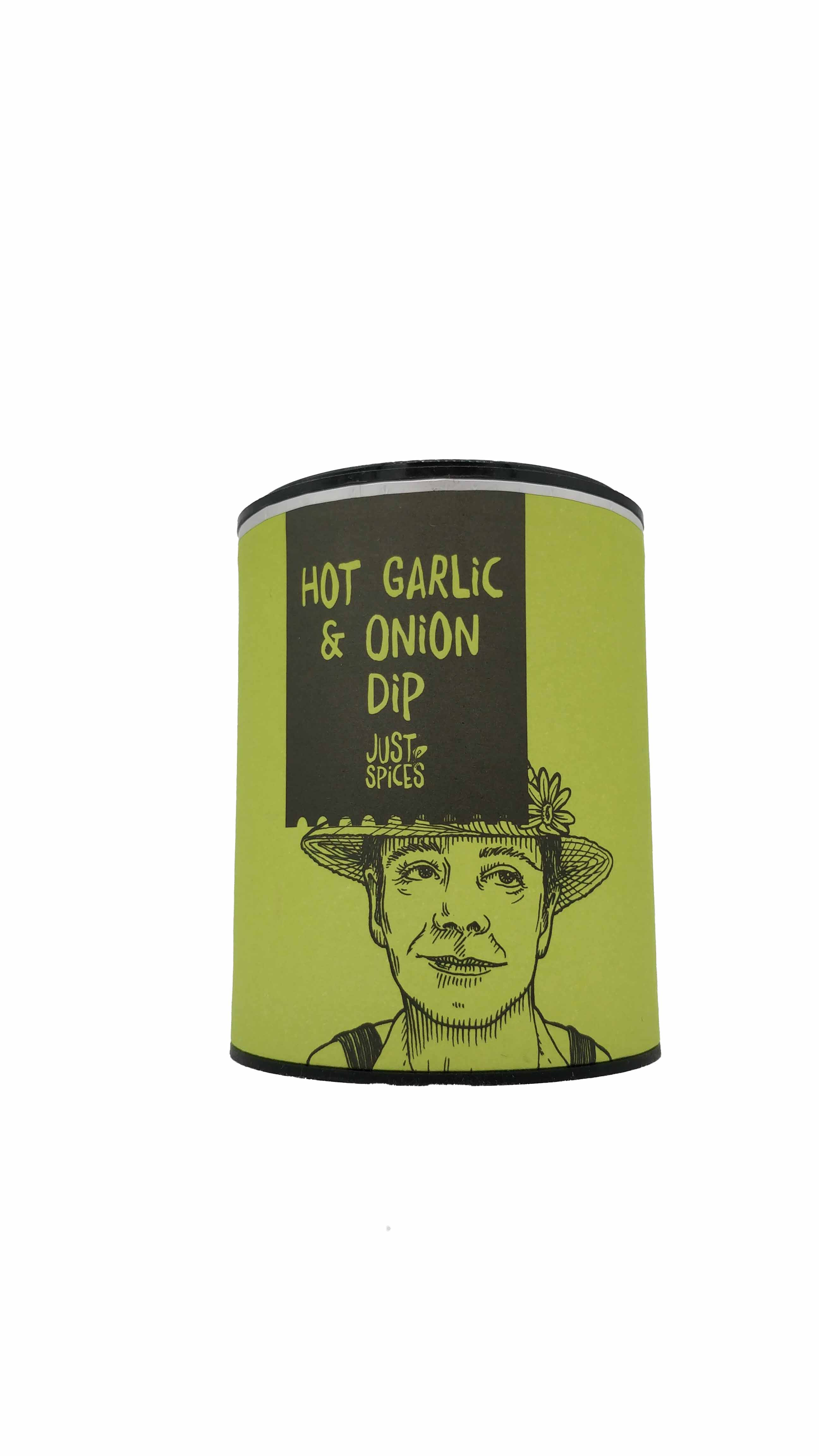 Just Spices Hot Garlic & Onion Dip, 36g Dose