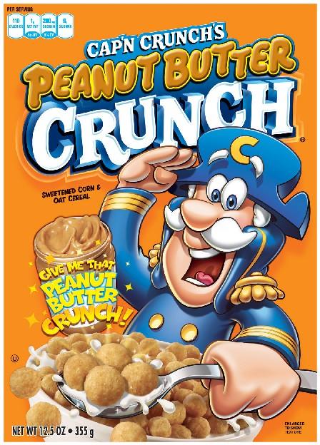 Quaker Capn Crunch  Peanut Butter 355g
