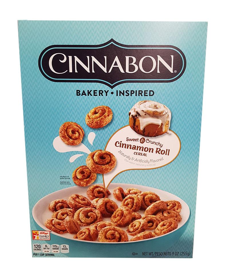 Kellogs Cinnabon Cereal