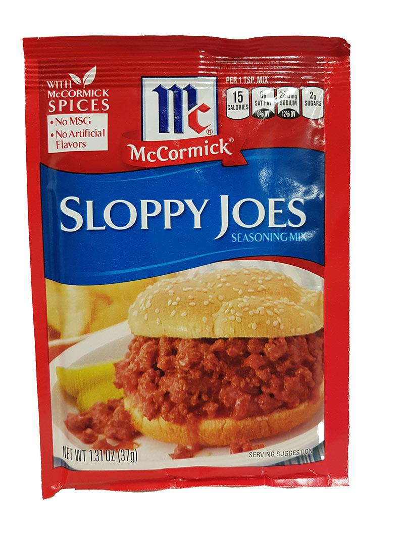 McCormick Sloppy Joes Seasoning Mix (37g)