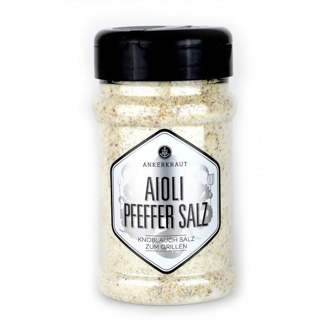 Ankerkraut Aioli Pfeffer Salz (Streuer) 280g