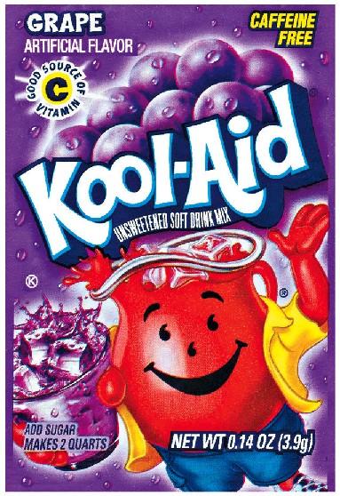 Kool Aid Instant Drink Grape - Tüten
