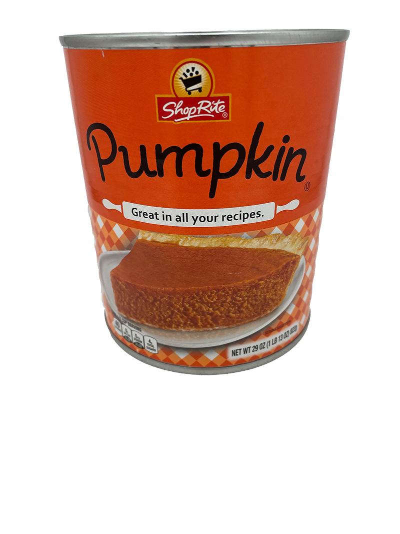 Shop Rite Pumpkin Pie (822g)