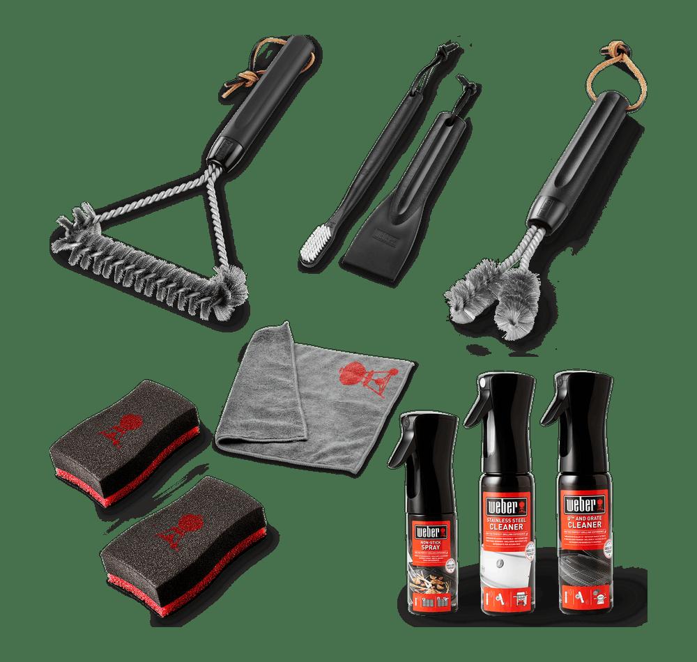 Weber Reinigungs-Set zum Vorteilspreis (Edelstahl-Gasgrill)