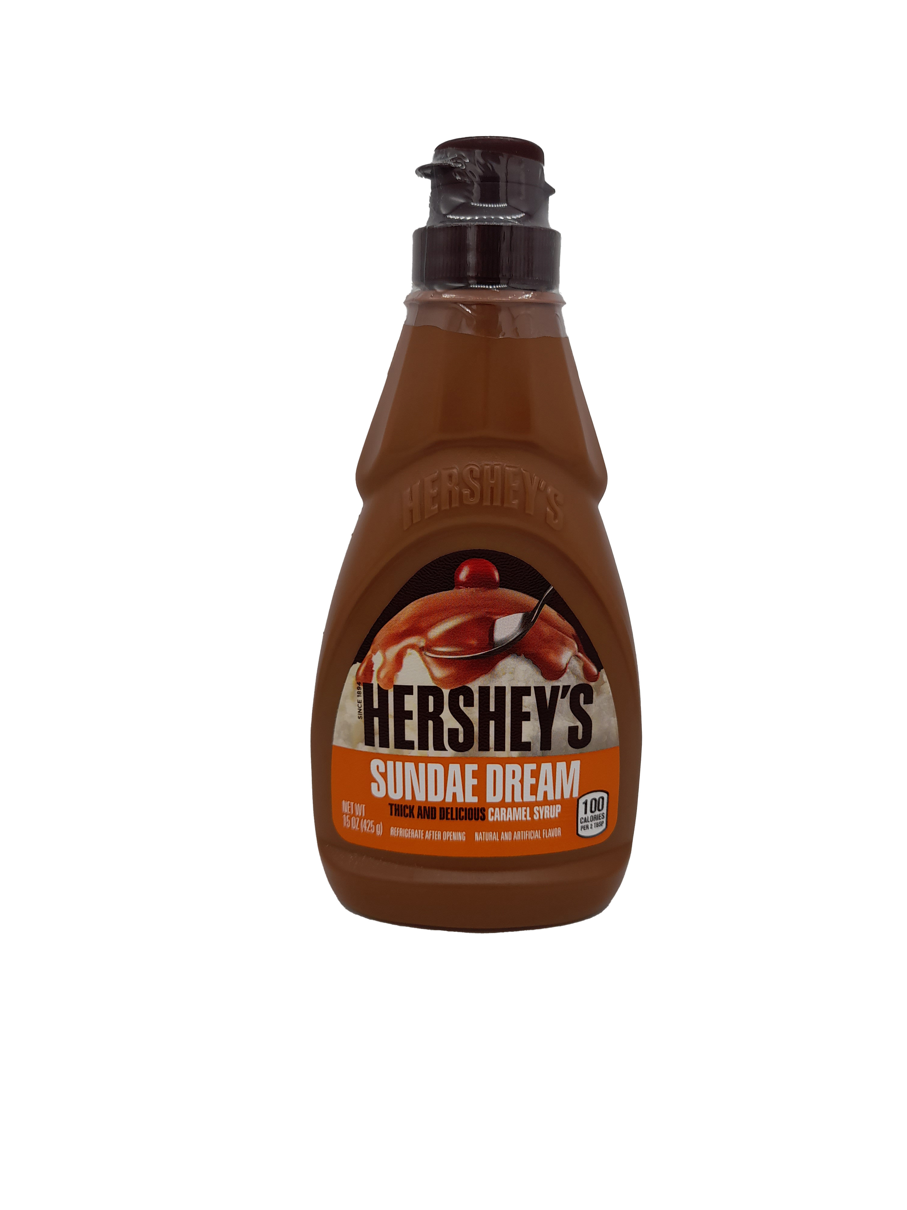 Hershey's Sundae Dream Thick and Delicious Caramel Syrup 425g