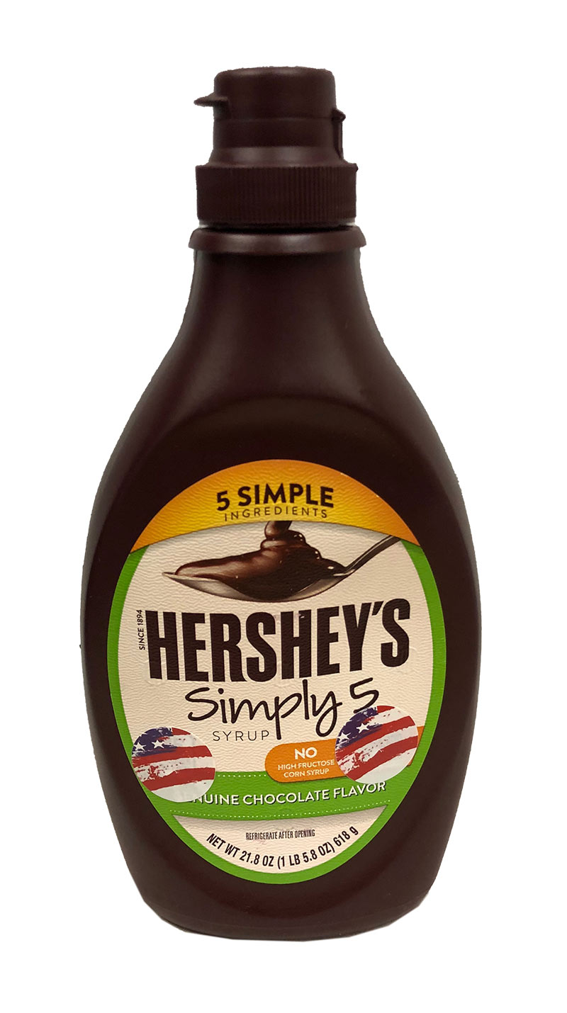 Hershey's Simply 5 Syrup (MHD 30.04.2020)