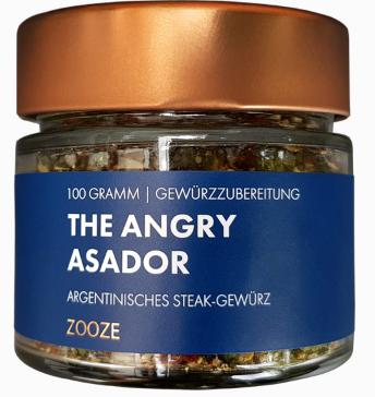 ZOOZE The Angry Asador 100g Glastiegel