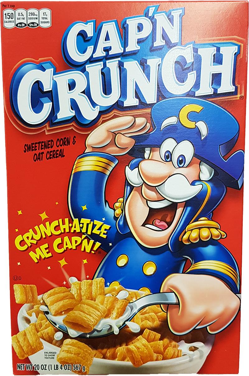 Quaker Capn Crunch 567g