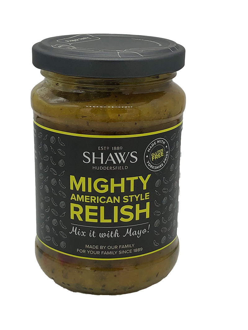 Shaws Mighty American Style Relish (268ml)