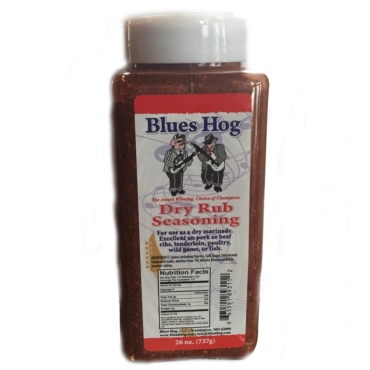 Blues Hog Dry Rub Seasoning (737 GR)