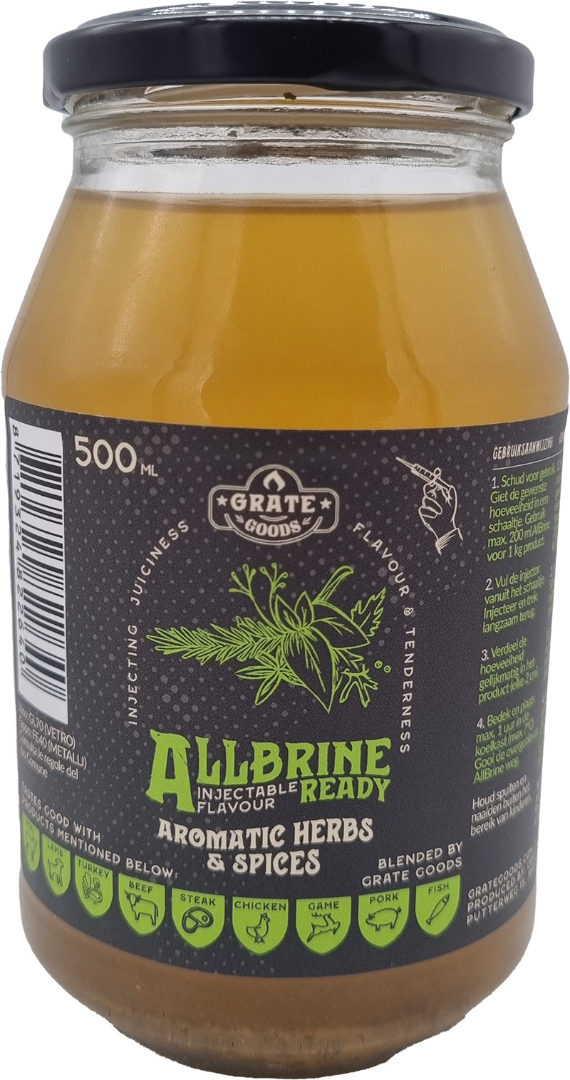 Grate Goods AllBrine Ready Aromatic Herbs&Spices 500ml