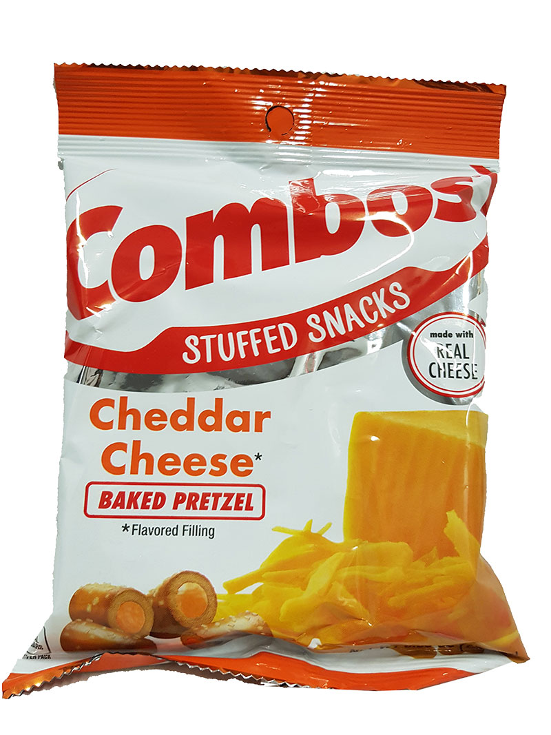 Cheddar Cheese Pretzel Combos 179g