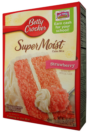 Betty Crocker Strawberry Cake