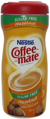 Nestle Coffee Mates Hazelnut Sugar Free