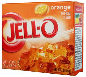 Jell-O- Orange Götterspeise
