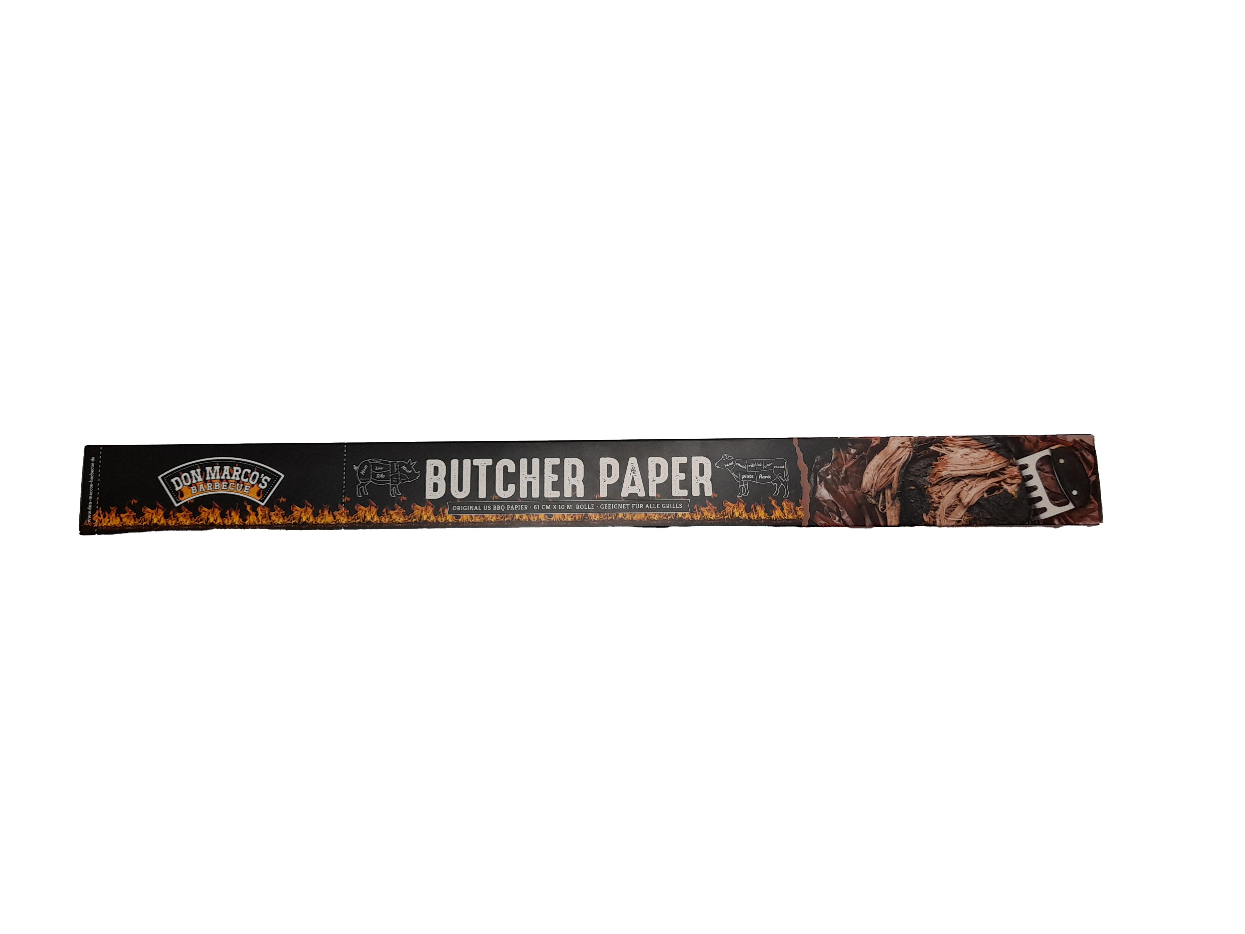 Don Marco's Original US Butcher Paper, Rolle 61cm x 10m
